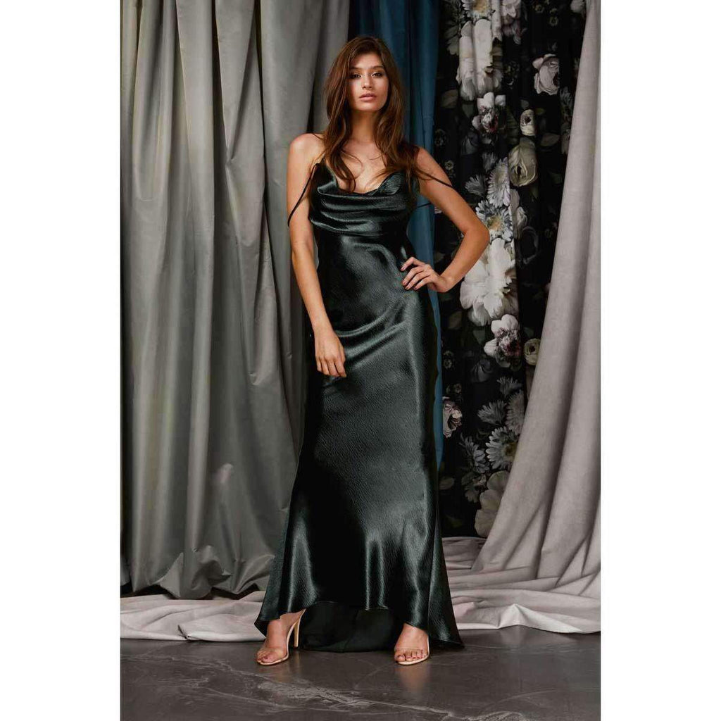 Vienna Dress Deep Green