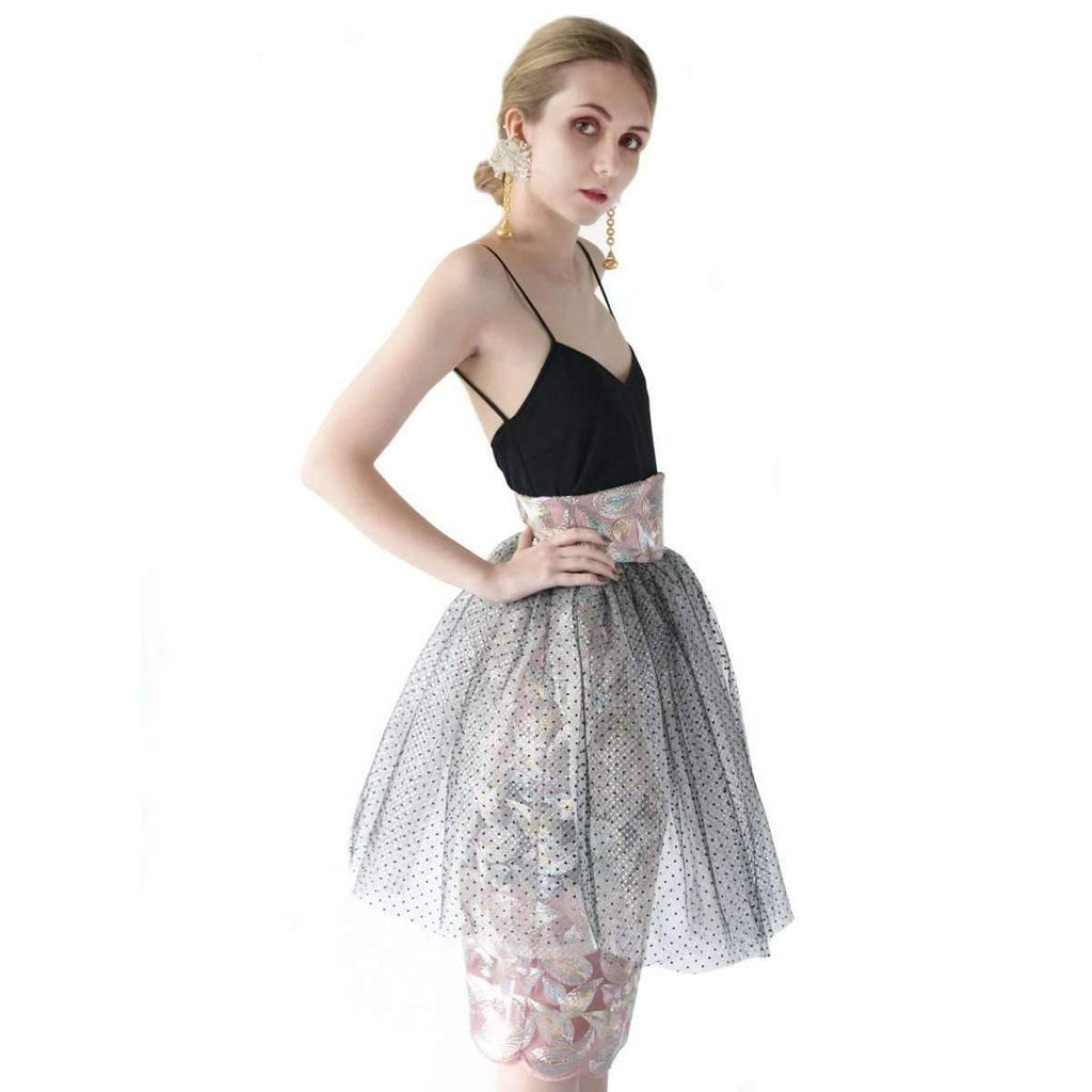 Harper Triple Layered High Waisted Skirt