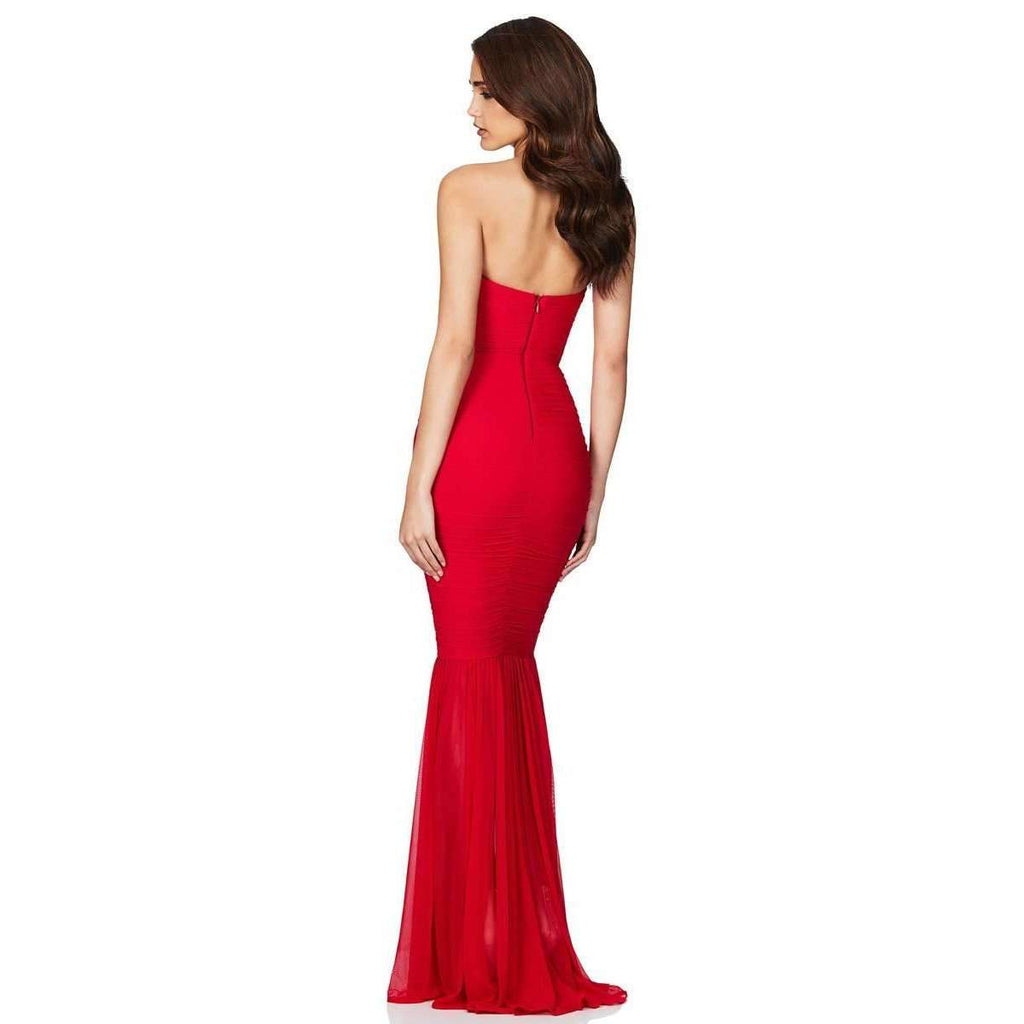 Ambition Gown Red