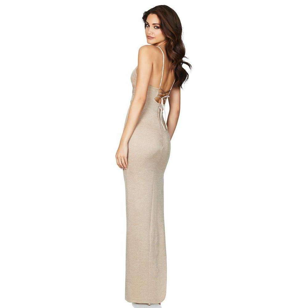 Aura Gown Light Gold