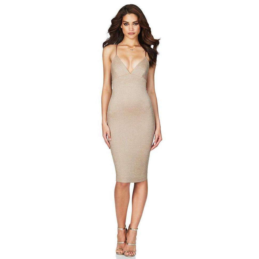 Aura Midi Light Gold