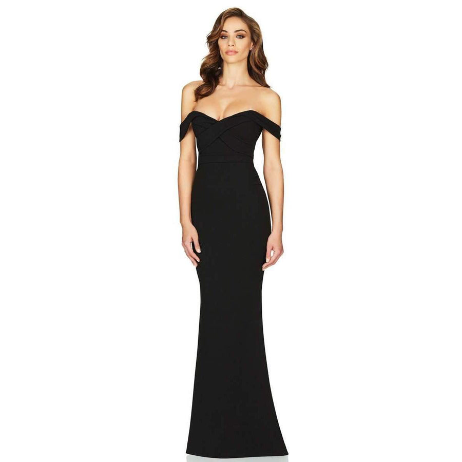 Camille Gown Black