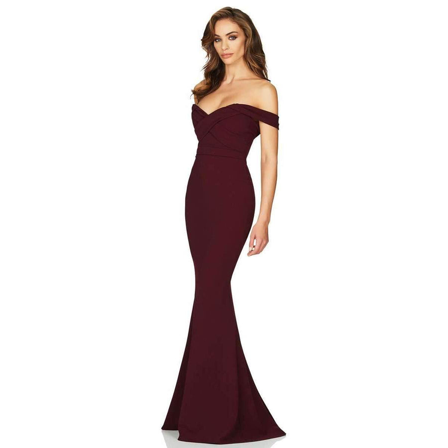 Camille Gown Wine