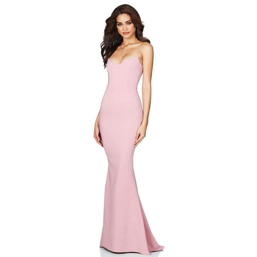 Diamond Gown Dusty Pink