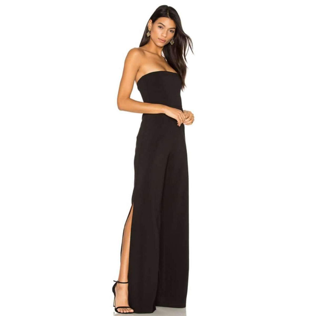 Glamour Jumpsuit Black
