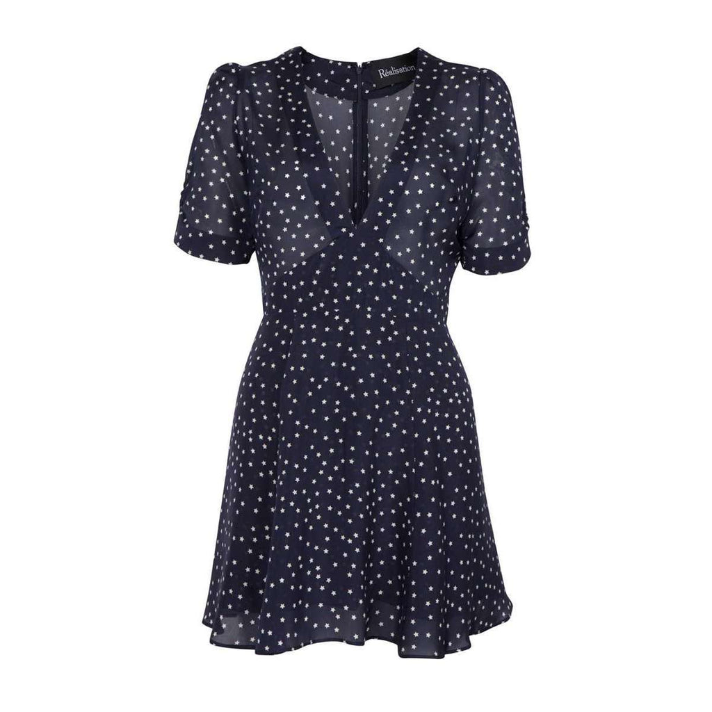 The Ozzie Navy Star Dress