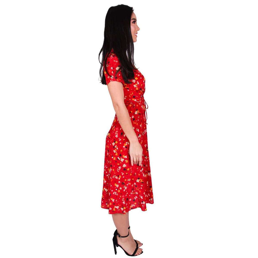 The Teale Rouge Fleur Dress