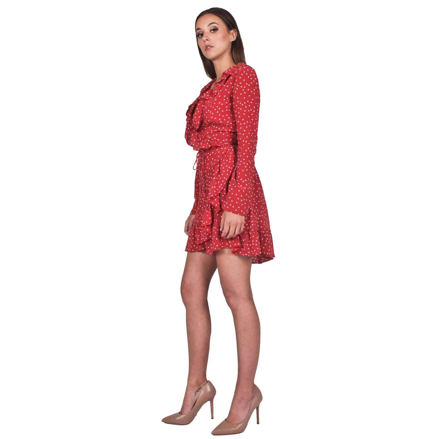 Alexandra Red Star Dress