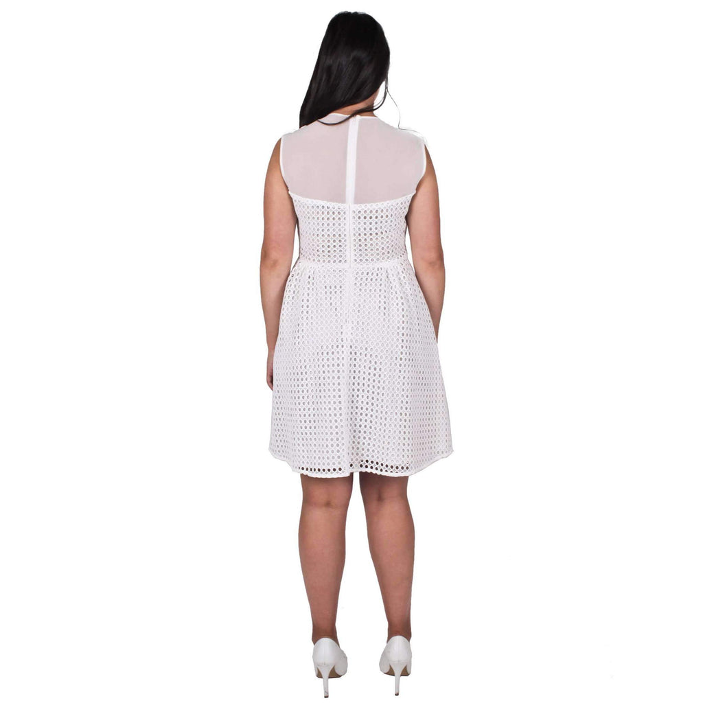 Royale Eyelet A Line Dress