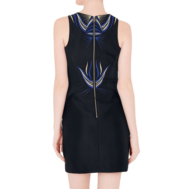 Talisman Embroidered Mini Dress