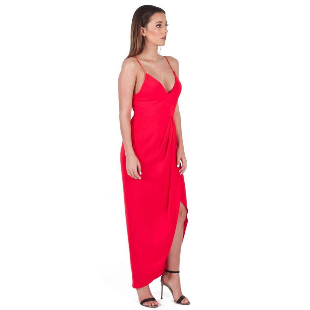 Core Cocktail Dress Tomato