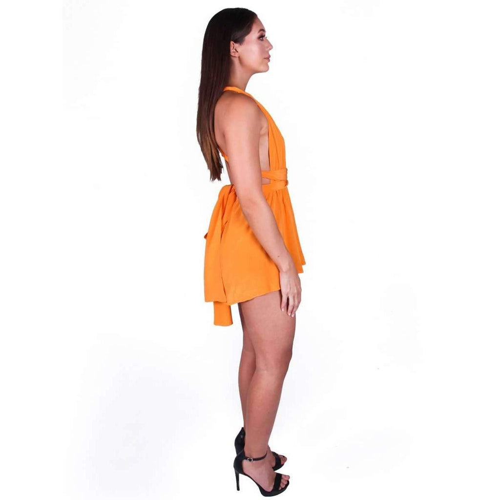 Multiway Playsuit Tangerine Dream