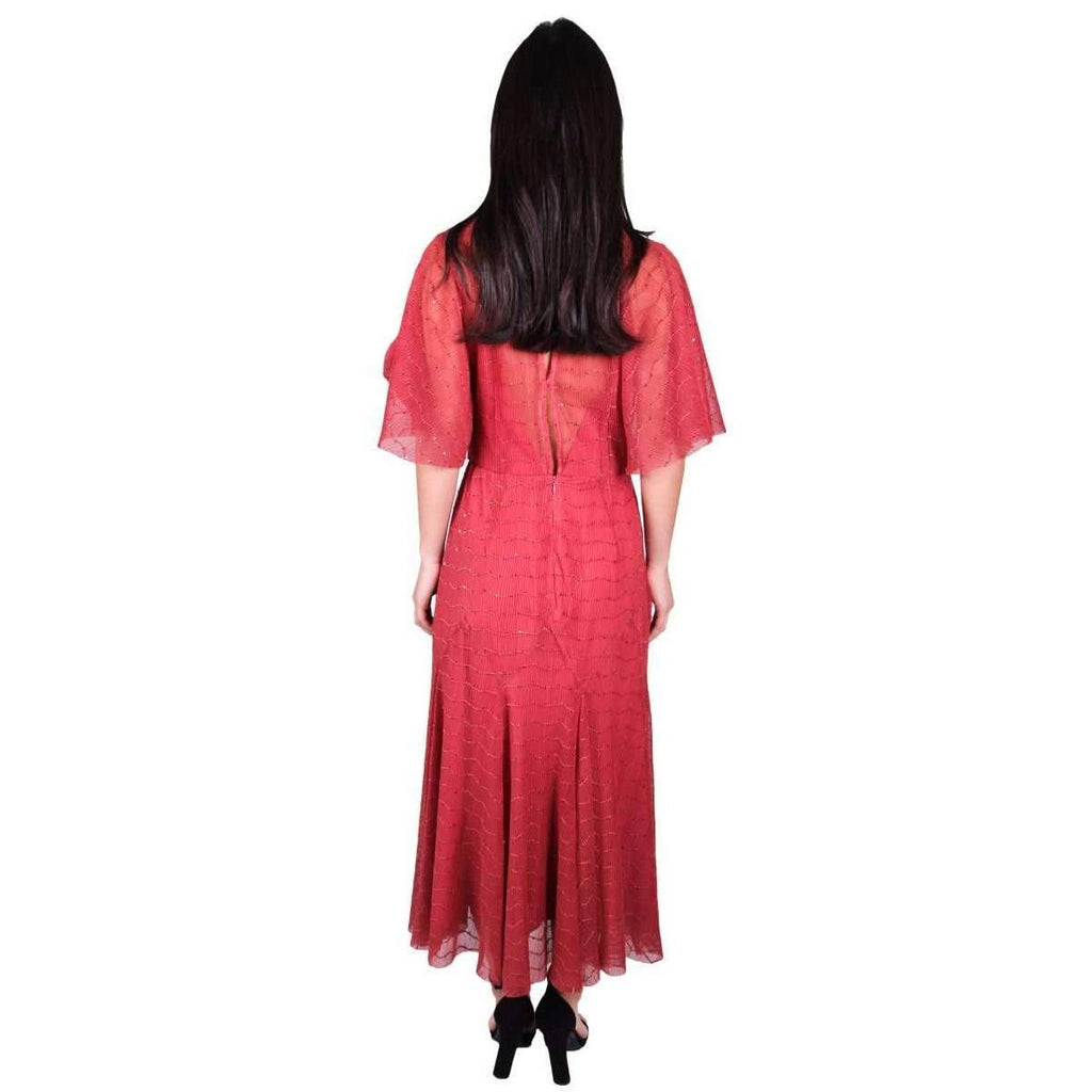 Candid Lace Midi Dress