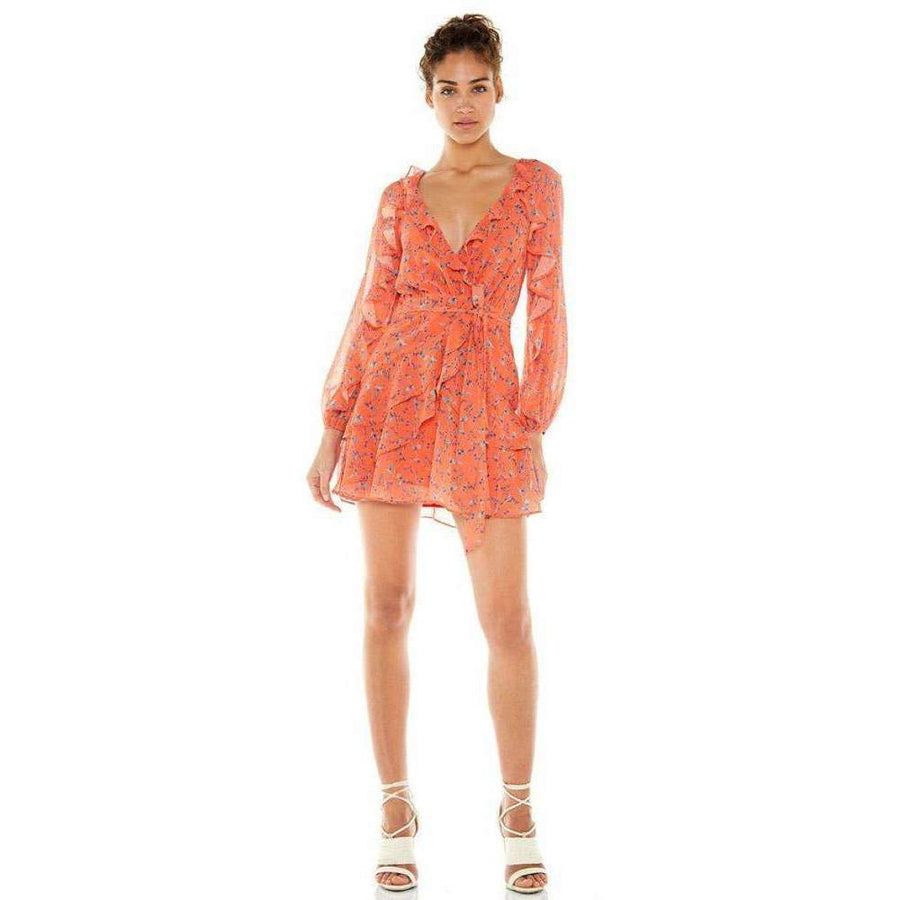 Daring Day Long Sleeve Mini Dress