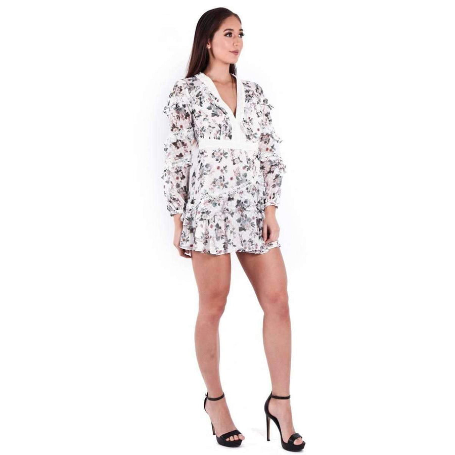 Reminisce Long Sleeve Mini Dress