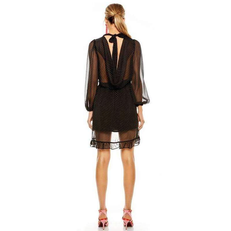 Shadow Play Mini Dress