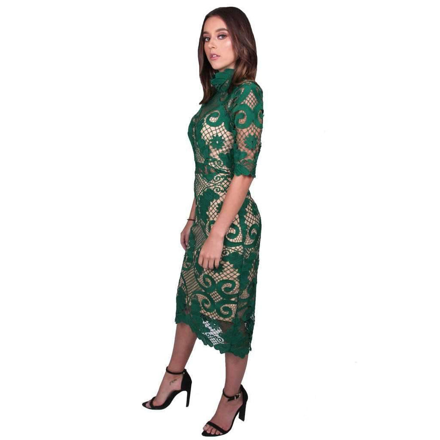 Babylon Pencil Lace Dress