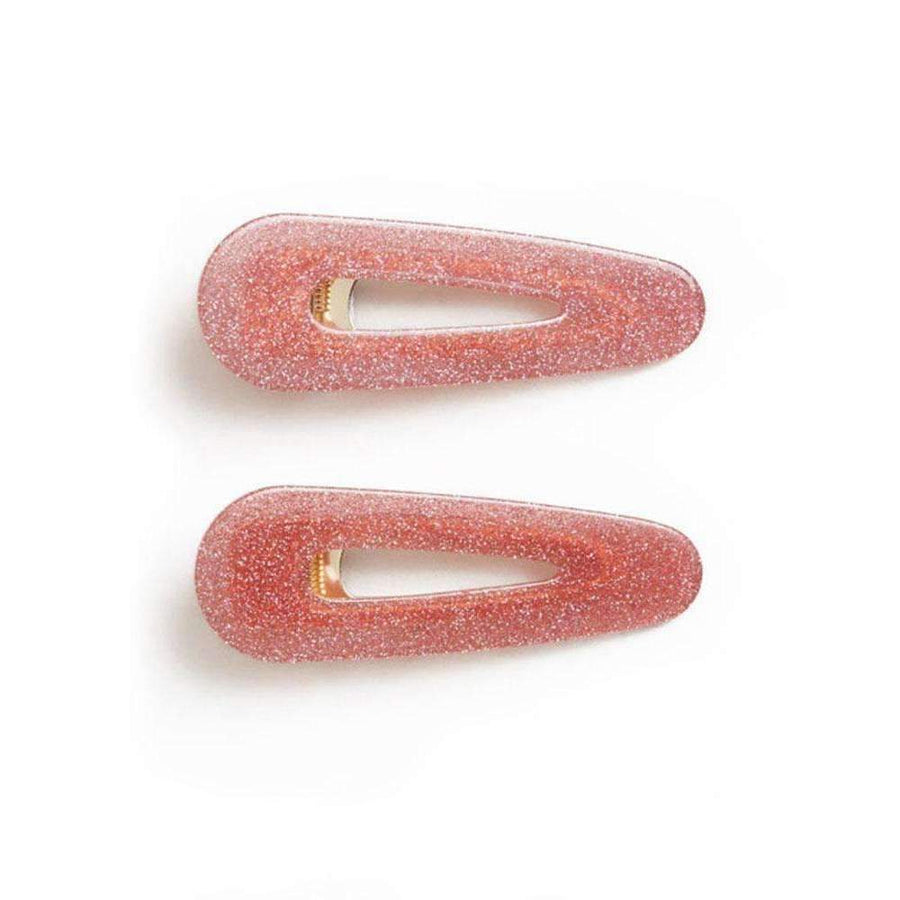 Kelly Clip Pink Glitter - Set of Two