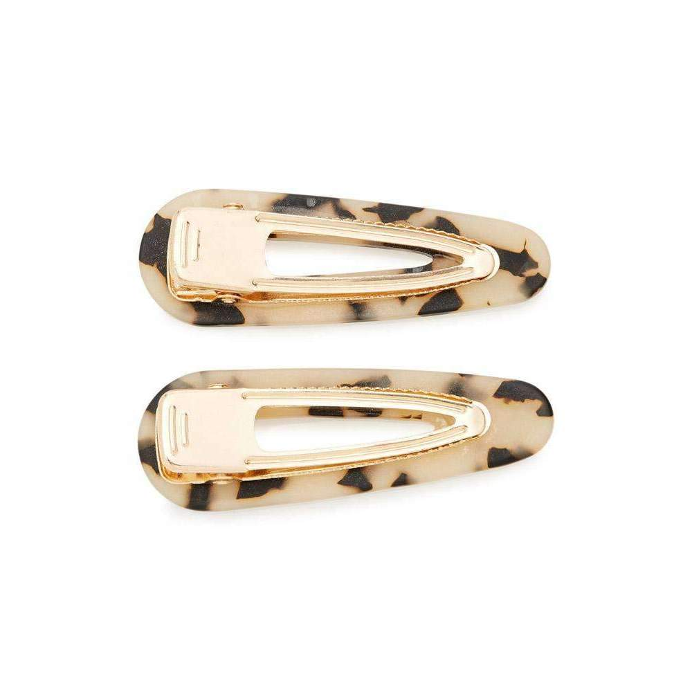 Kelly Clip Tortoise - Set of Two