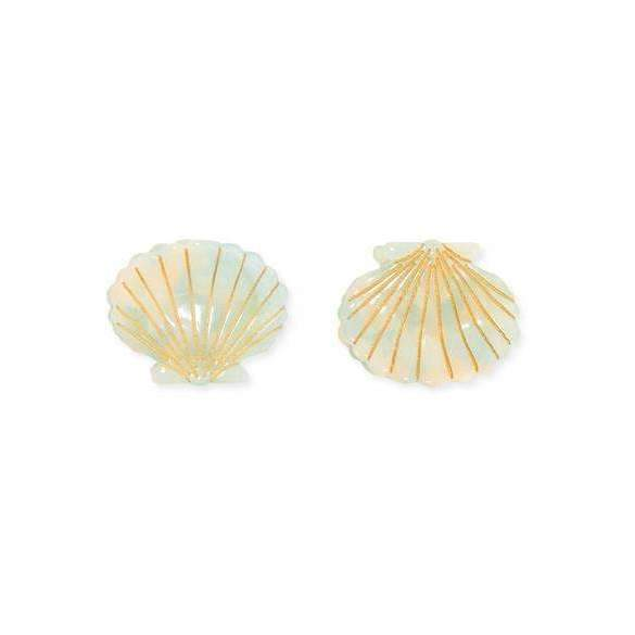 Ursula Shell Clip Mint - Set of Two