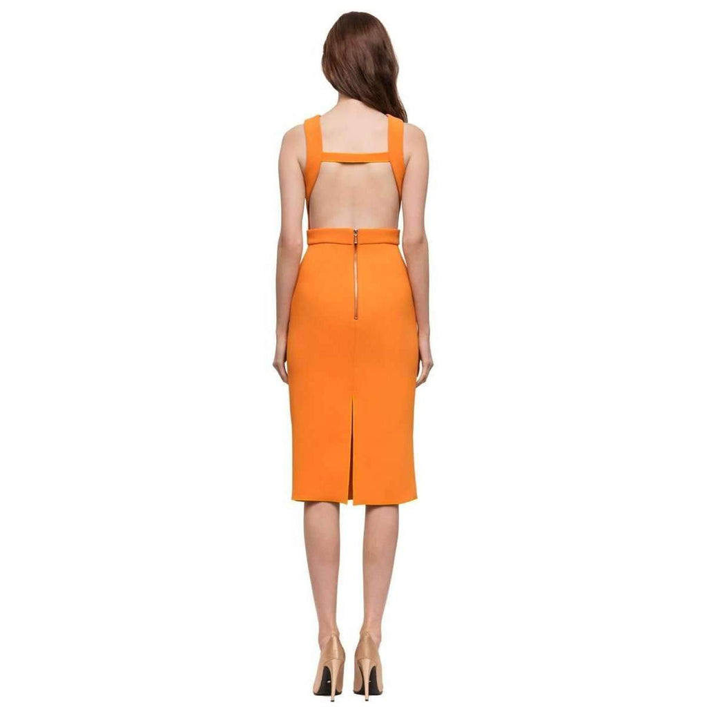 Double Crepe Sophie Dress Mandarine