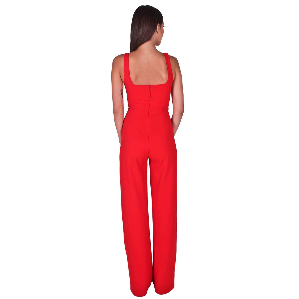 Vira Jumpsuit Cherry Red