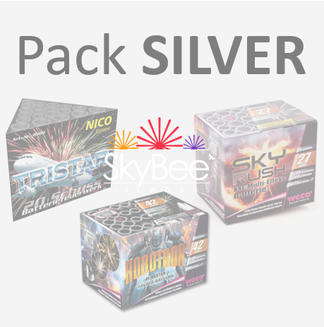 Pack Silver 75'' - 650g