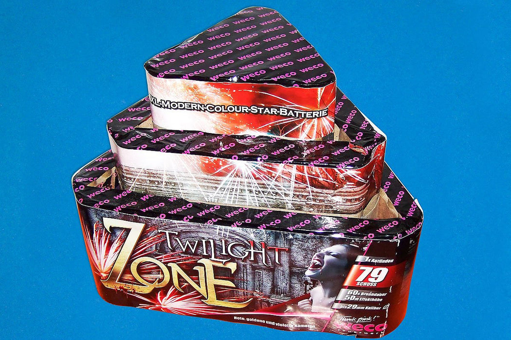 MEGA PROMO Twilight Zone 79 shots - 481g