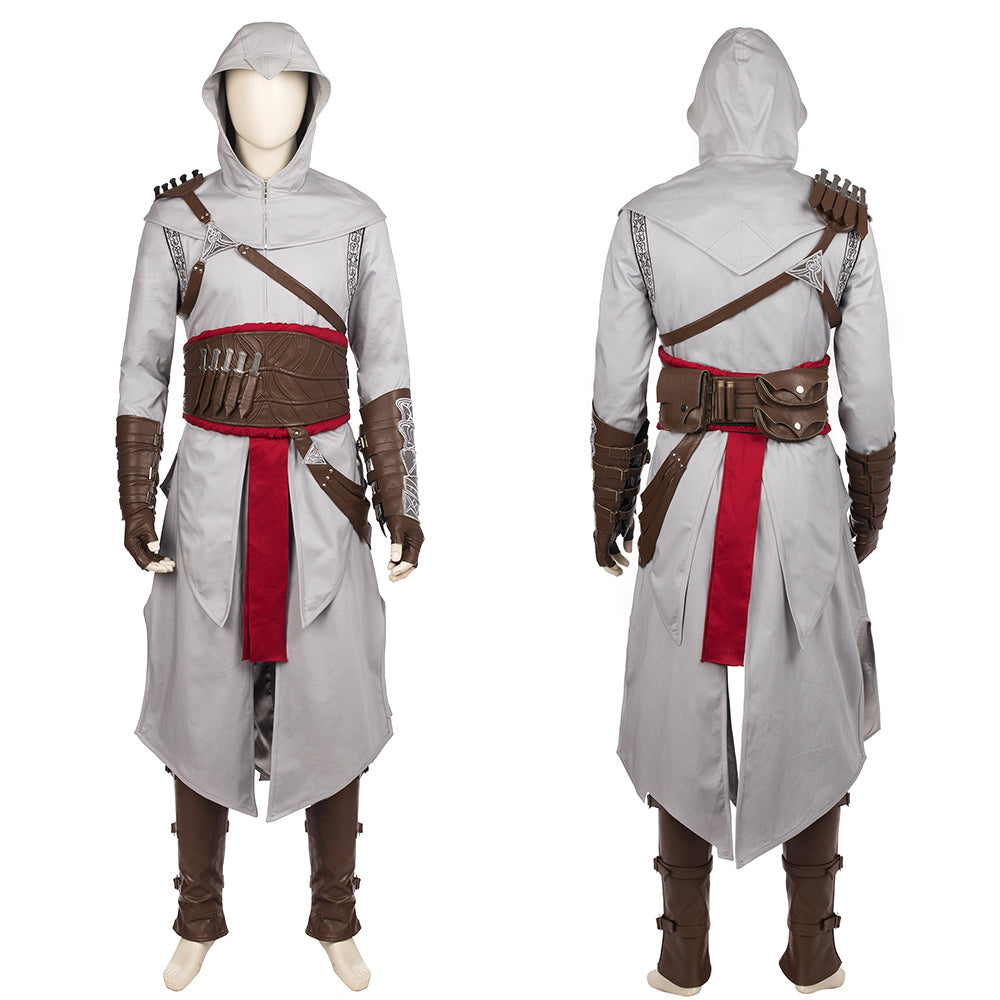 Assassins Creed Altair Costume Cosplay Outfit For Men Women Kids
