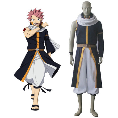 Fairy Tail Natsu Dragneel Cosplay Costume For Men