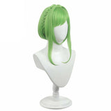 Nanamine Sakura Green Cosplay Wig From Toilet-Bound Hanako-kun