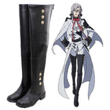 Seraph of the End Vampire Ferid Bathory Boots Anime Cosplay Shoes
