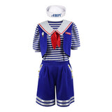 Scoops Ahoy Costumes  Stranger Things 3 Robin Buckley Cosplay Outfits School Uniform
