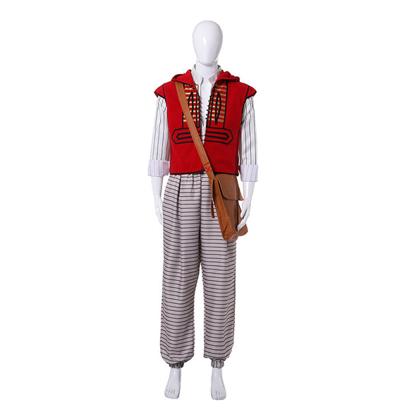 2019 Aladdin Prince Mena Massoud Cosplay Costume Outfit For Adult Kids