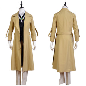 Bungou Stray Dogs Osamu Dazai Cosplay Costume Uniform Outfit