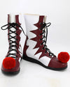 2017 Movie Pennywise Cosplay Shoes/Boots Custom Made For Male/Female