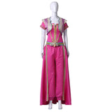 Aladdin Princess Jasmine Cosplay Costume Halloween Fancy Dress