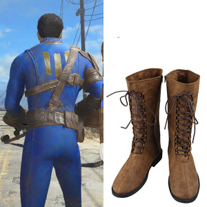 Fallout 4 Nate Cosplay Boots Nate Cosplay Shoes