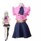 Seven Deadly Sins Elizabeth Liones Cosplay Costume Women Dress