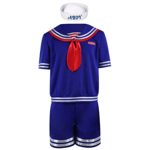 Stranger Things 3 Steve Harrington Cosplay Costumes Halloween Outfits School Uniform