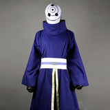Naruto Shippuden Uchiha Obito Cosplay Costume With Mask Custom Made