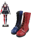 Arkham Knight Harley Quinn Cosplay Costume Asylum City Dark Outfit