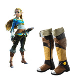 The Legend of Zelda Boots Breath of the Wild Cosplay Shoes