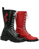 Batman Harley Quinn Cosplay Shoes Arkham Knight Cosplay Boots