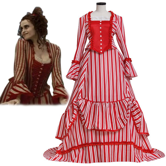 Womans Medieval Dress Sweeney Todd Mrs. Lovett's Cosplay Costume