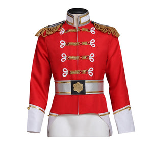 Barbie in the Nutcracker King Eric Jacket Cosplay Costume Men Prince Uniform Custom Made