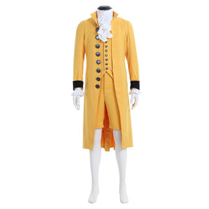 Medieval Mens Cosplay Costume 18th Century British Suit Custom Made