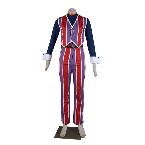 Lazy Town Robbie Rotten Cosplay Costume Adult Men Outfit Custom Made
