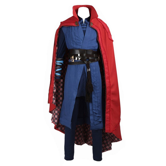 Doctor Strange Costume Dr Stephen Benedict Cumberbatch Cosplay Outfit Custom made