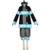 Tamaki Kotatsu Costume Fire Force Women Outfit Girl Uniform